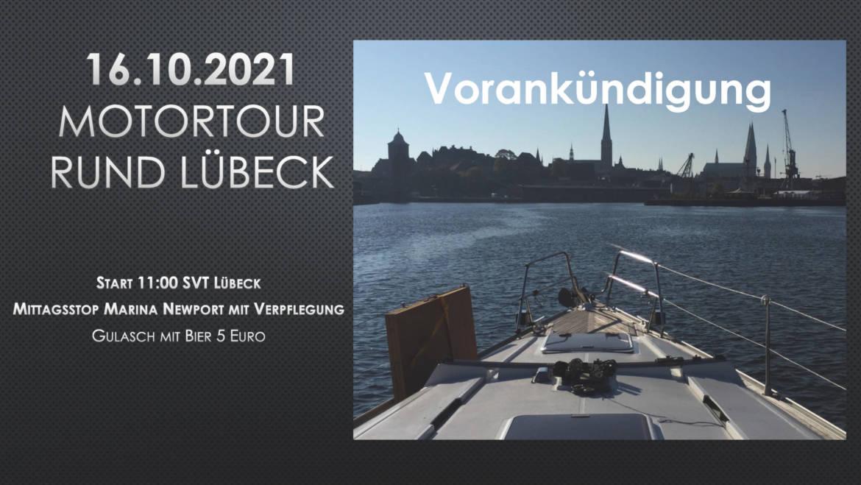 """16.10.2021 Motortour """"Rund Lübeck"""""""