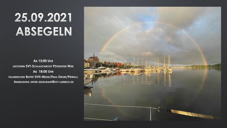 Absegeln 2021